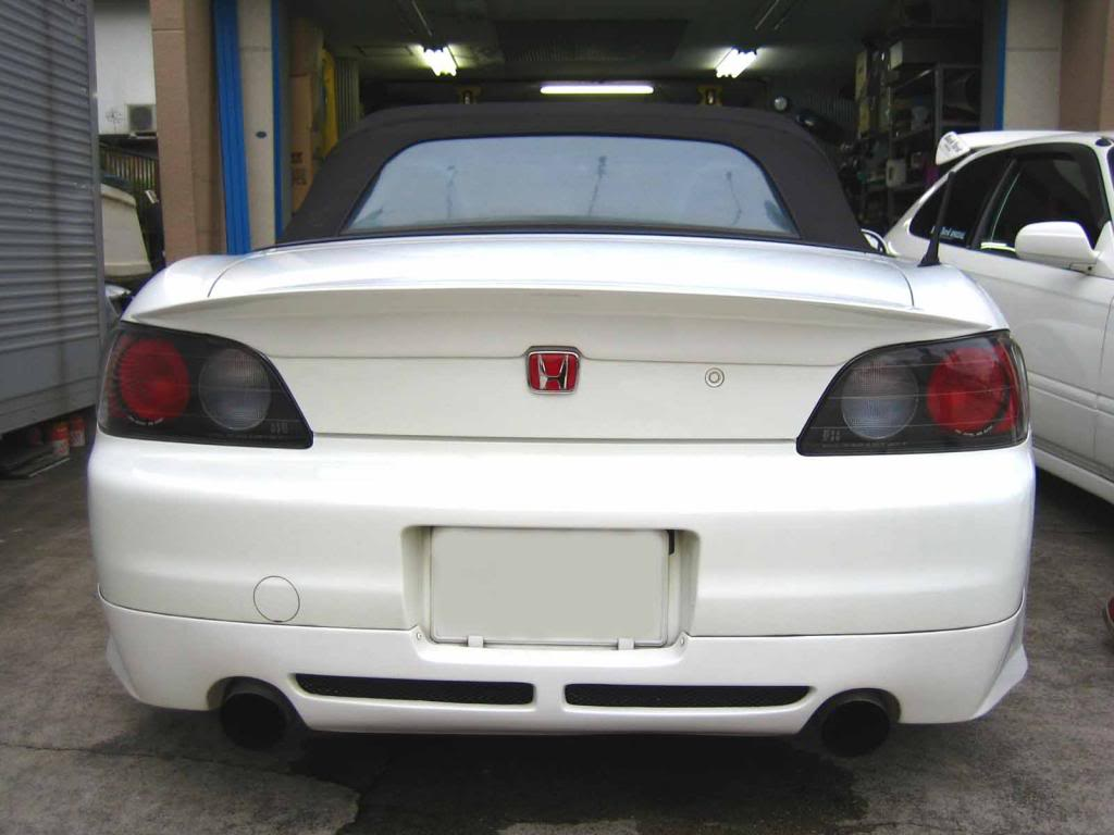 Backyard Special Bys S2000 Ap1 Rear Under Spoiler