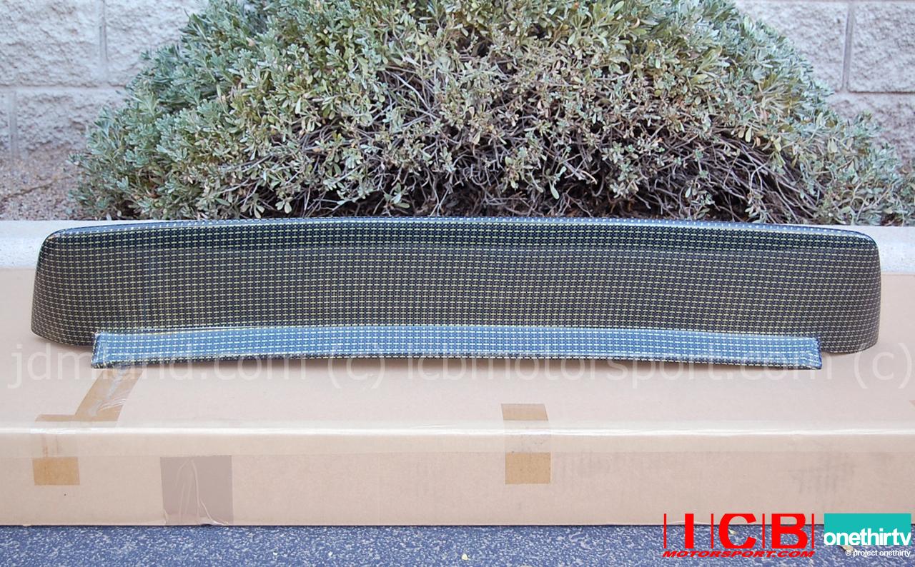 backyard special bys eg6 civic hatchback roof spoiler kevlar
