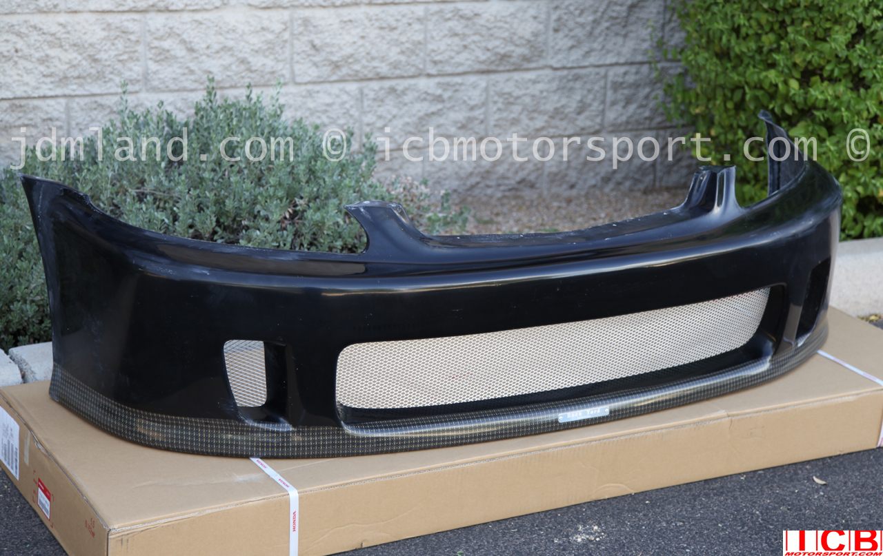 Backyard special front bumper fs ft jdm front integra for Spl table 99 00