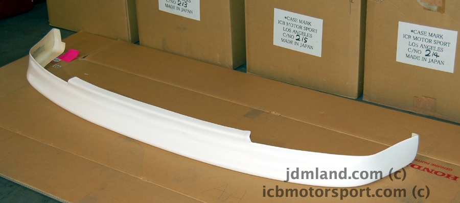 jdm chargespeed honda civic ef9 frp front lip spoiler