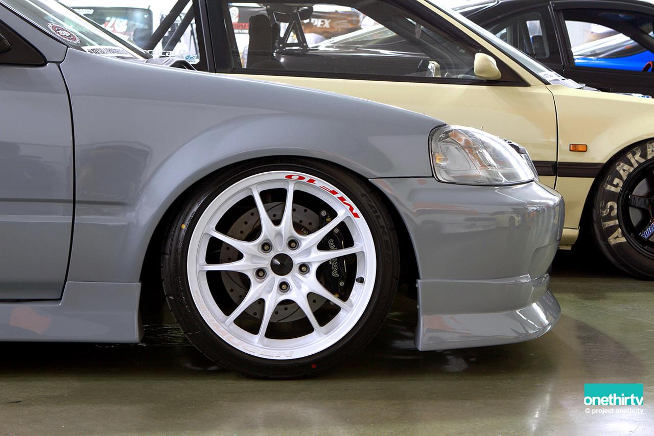 Jdm Chargespeed Honda Civic Ek9 99 00 Frp Front Lip Spoiler