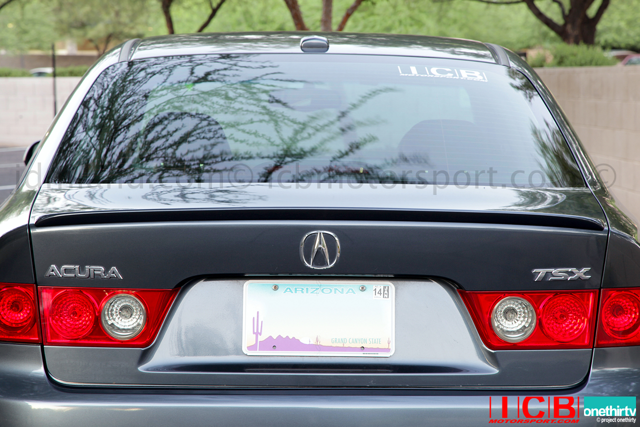 Edm Honda Ducktail Spoiler 04 08 Jdm Cl7 Accord R Usdm