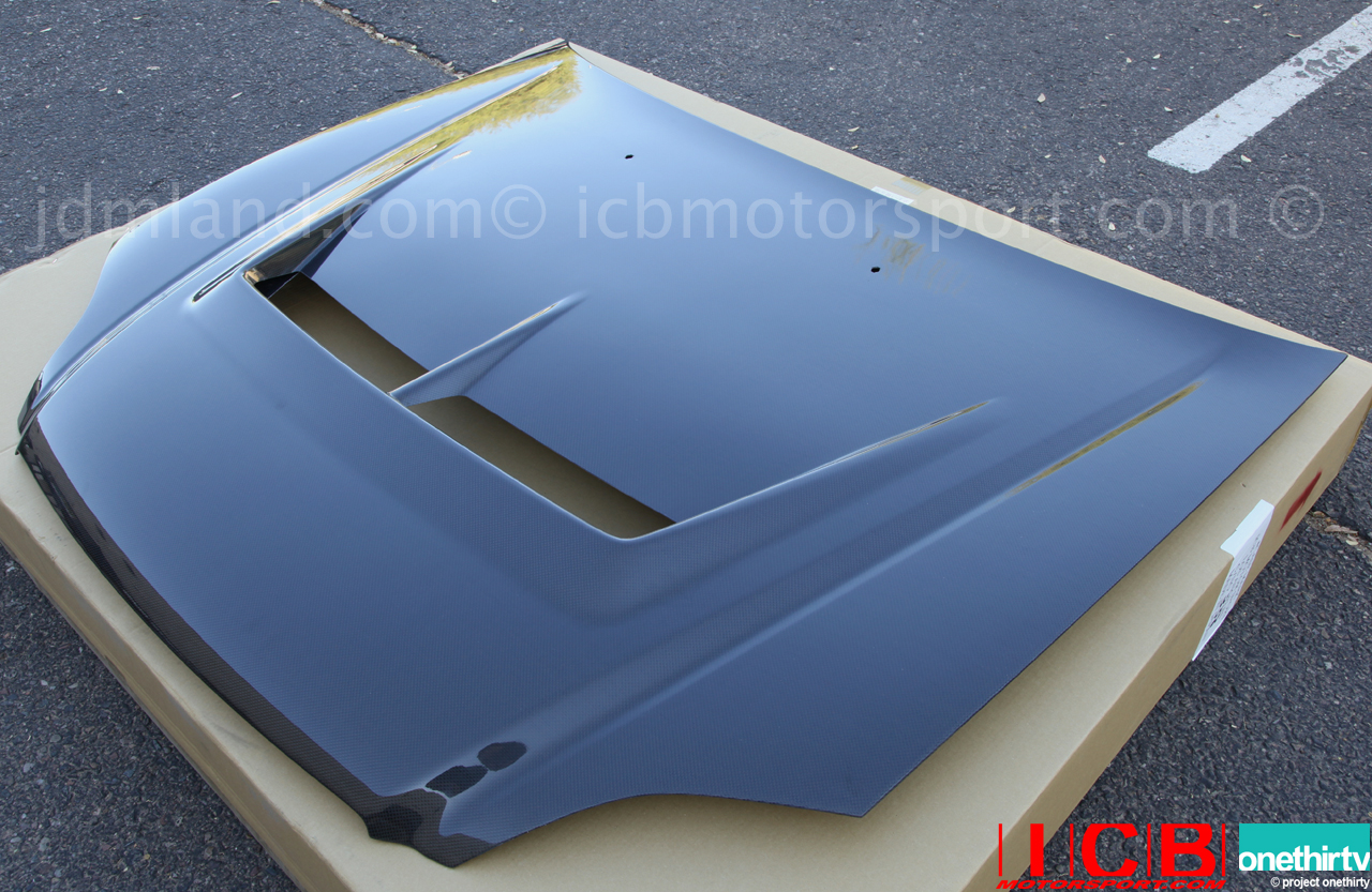 Honda S2000 Carbon Fiber Hood