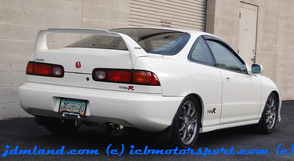 Acura Integra Type R OEM Rear Decal 97 98 00 96 99 94-01 DC2 R Honda JDM Rare
