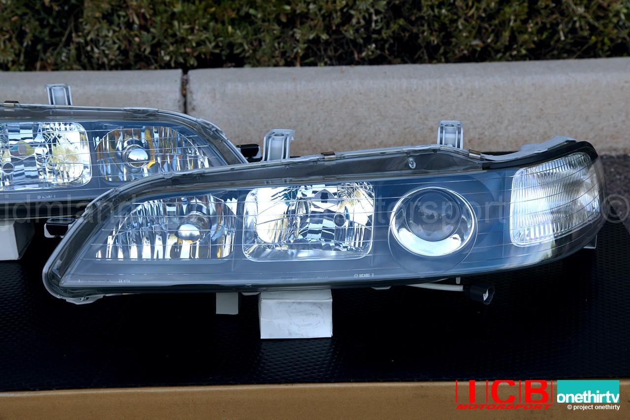 Hid Light Bulbs >> JDM DC2 Integra DC2 ITR Black Housing HID Headlights (Housing Only)