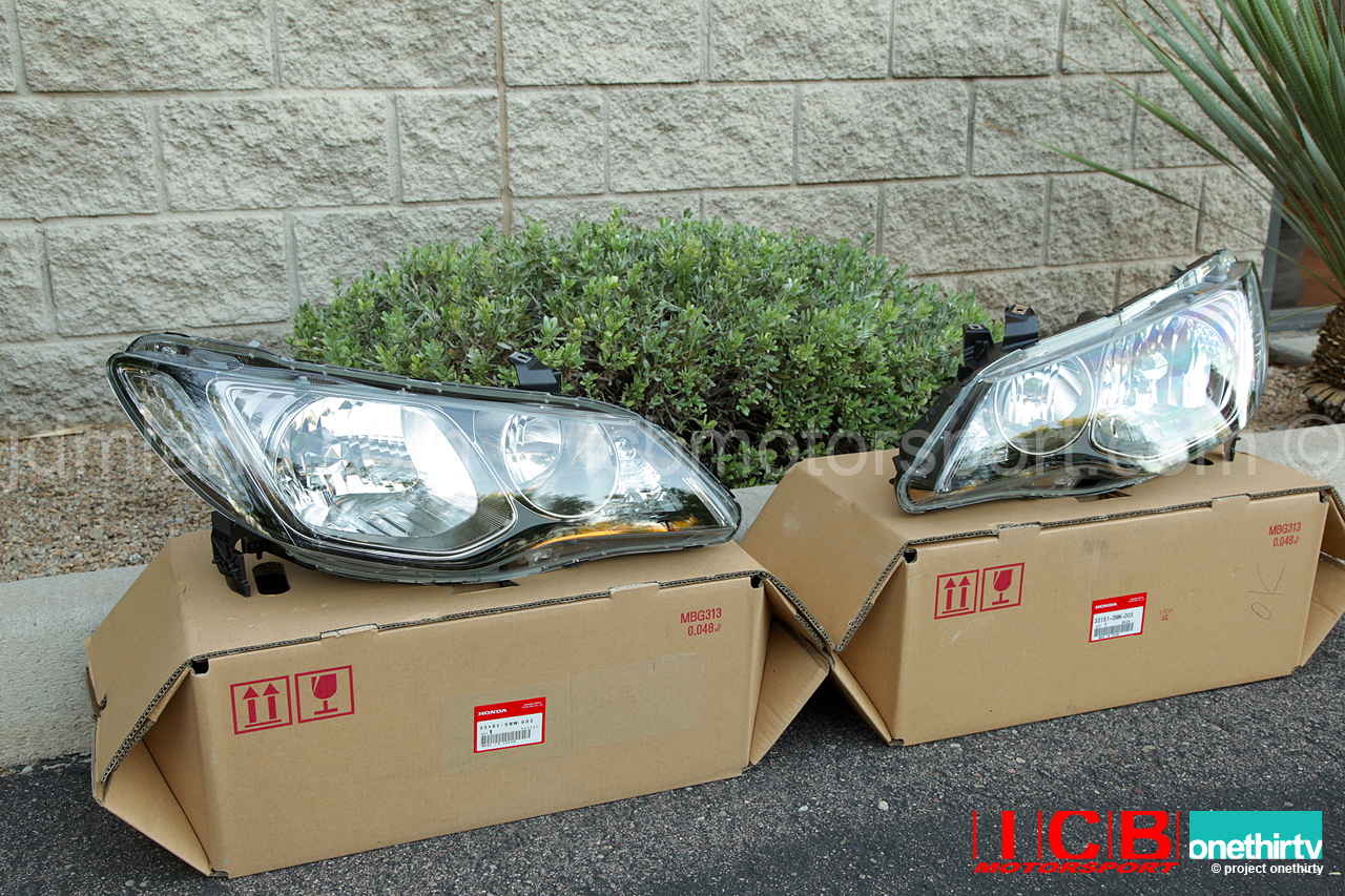 Jdm Honda Civic Type R Fd2 Non Hid Headlight Housing