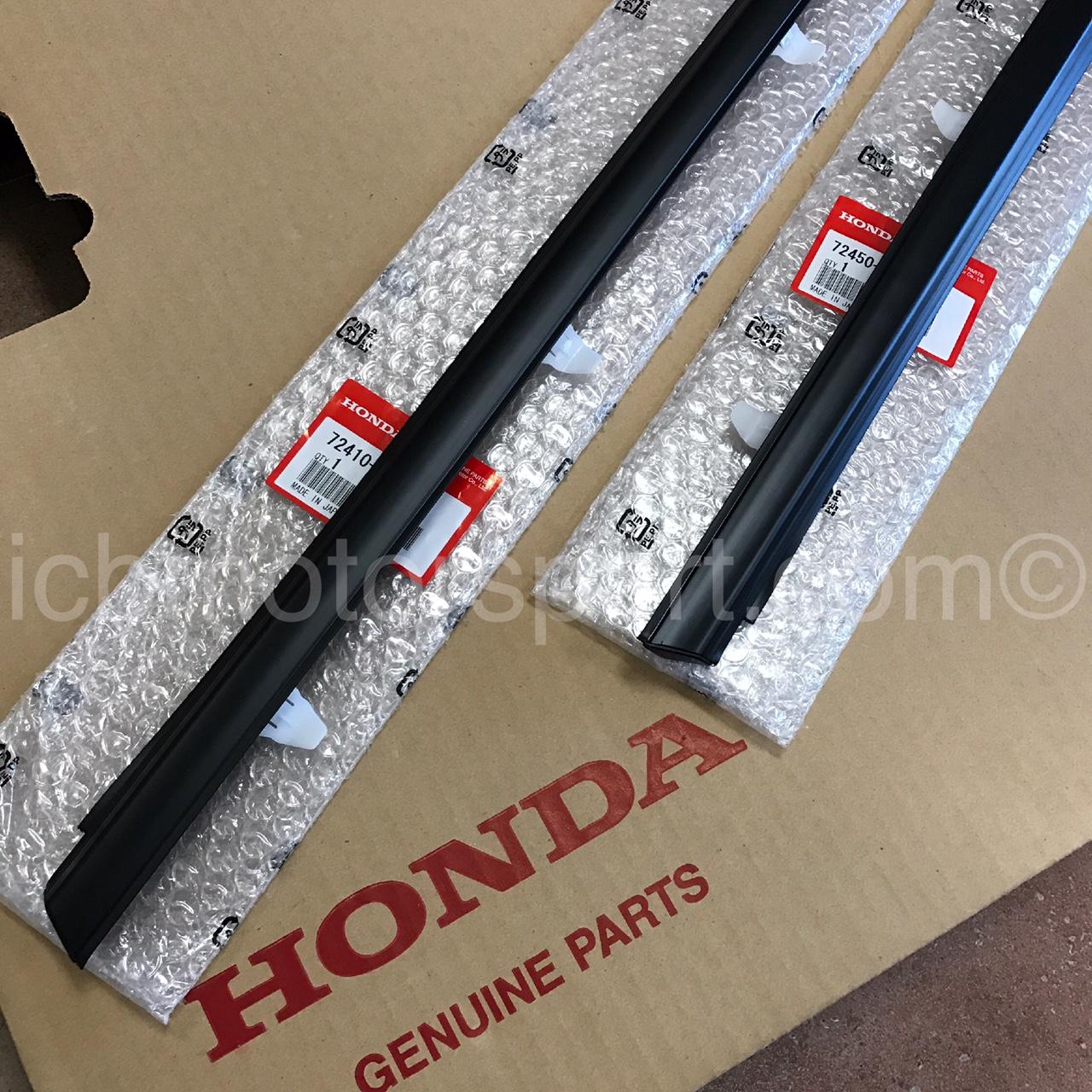jdm honda integra dc   door molding assembly