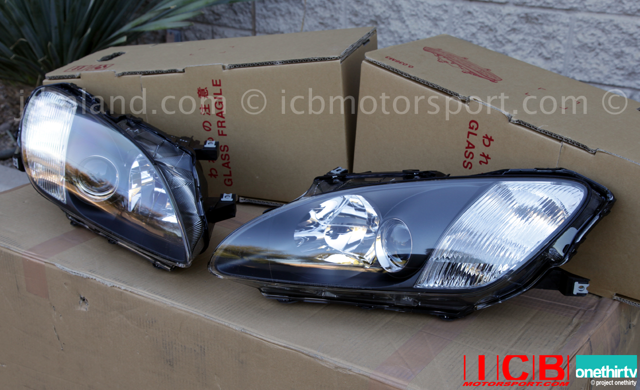 Jdm Honda S2000 Ap1 Headlights Set 2000 2003 In Stock