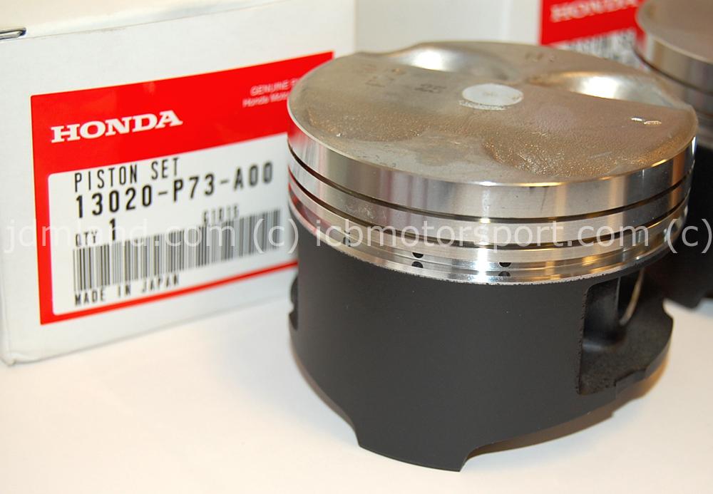 USDM Integra DC2 Type R Piston Kit B18C5 10.6 CR (Standard Size)