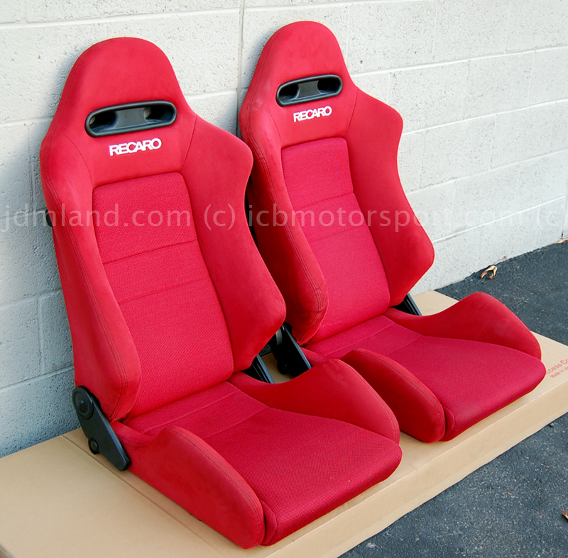 Used Jdm Integra Dc5 Red Recaro Seats Mint Condition Sold