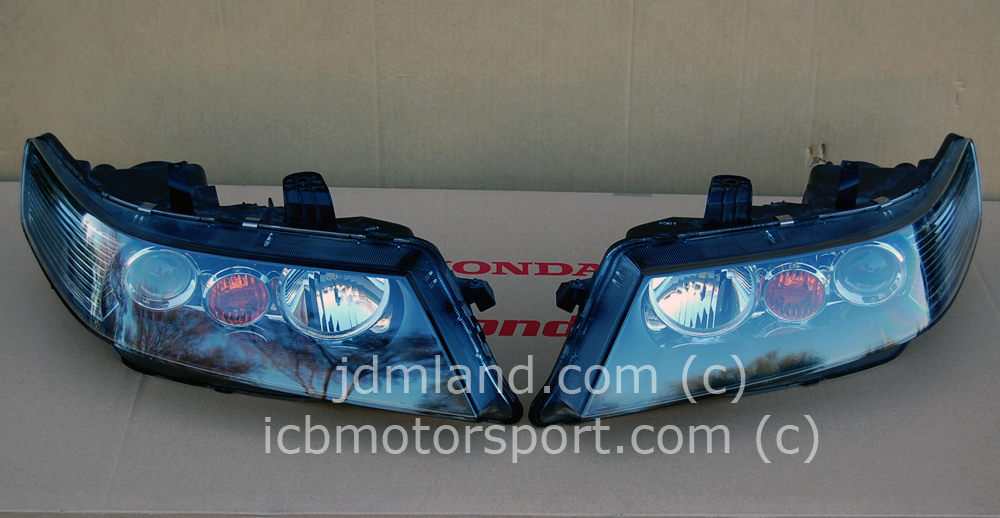 Used Jdm Accord Euro R Cl7 Tsx Headlamp Set 04 05 Sold