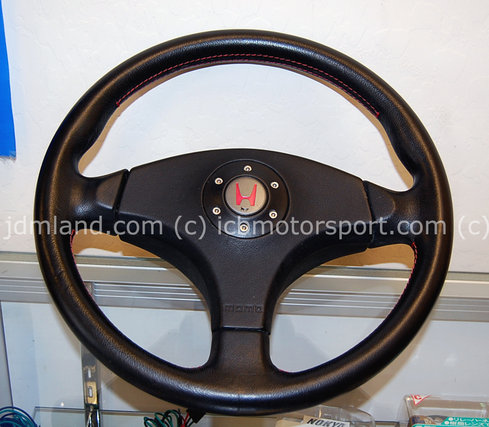 used jdm civic ek9 type r steering wheel non srs rare. Black Bedroom Furniture Sets. Home Design Ideas