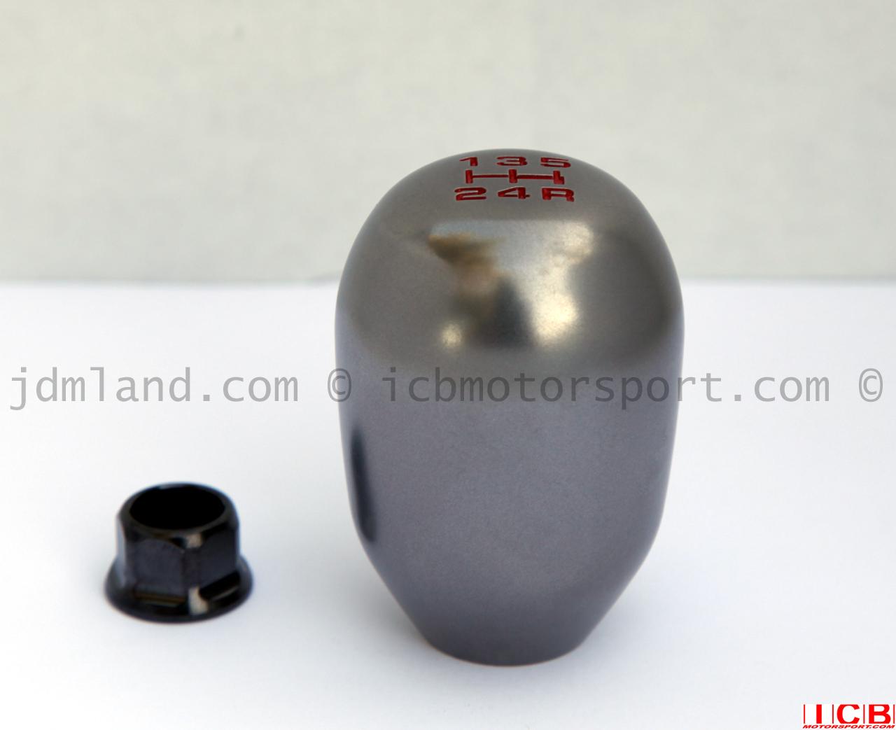 used jdm ek9 dc2 type r titanium shift knob mint condition. Black Bedroom Furniture Sets. Home Design Ideas