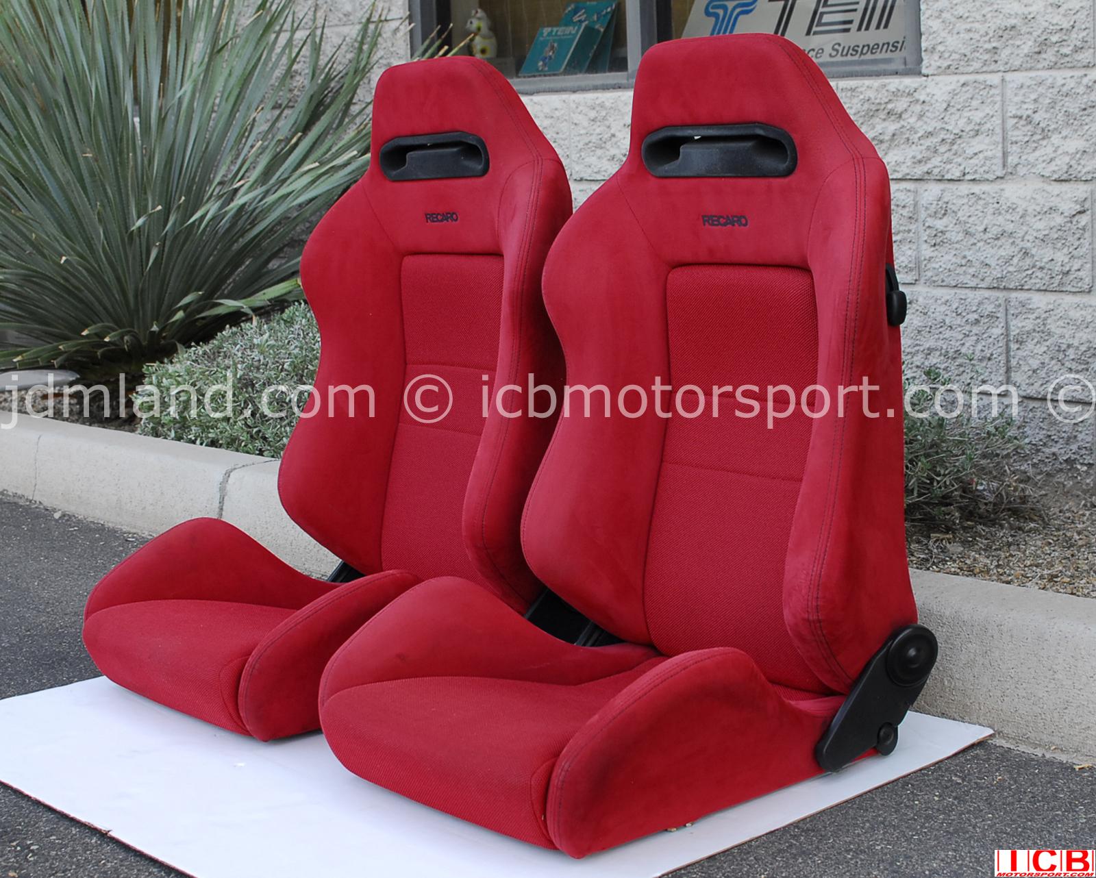 honda ek civic type  red recaro seats sold