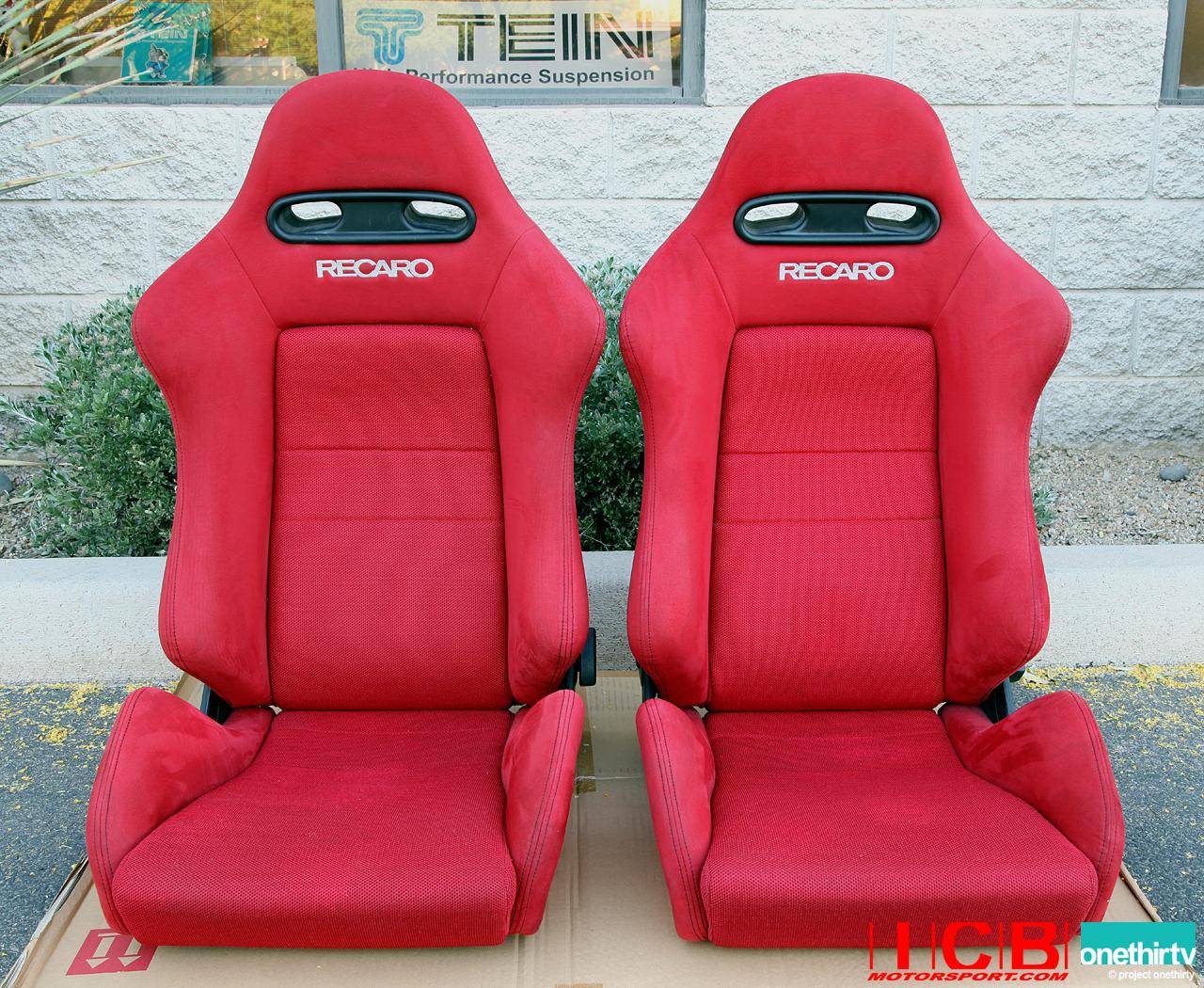 Used Jdm Integra Dc5 Red Recaro Seats Condition 9 25 10 Sold