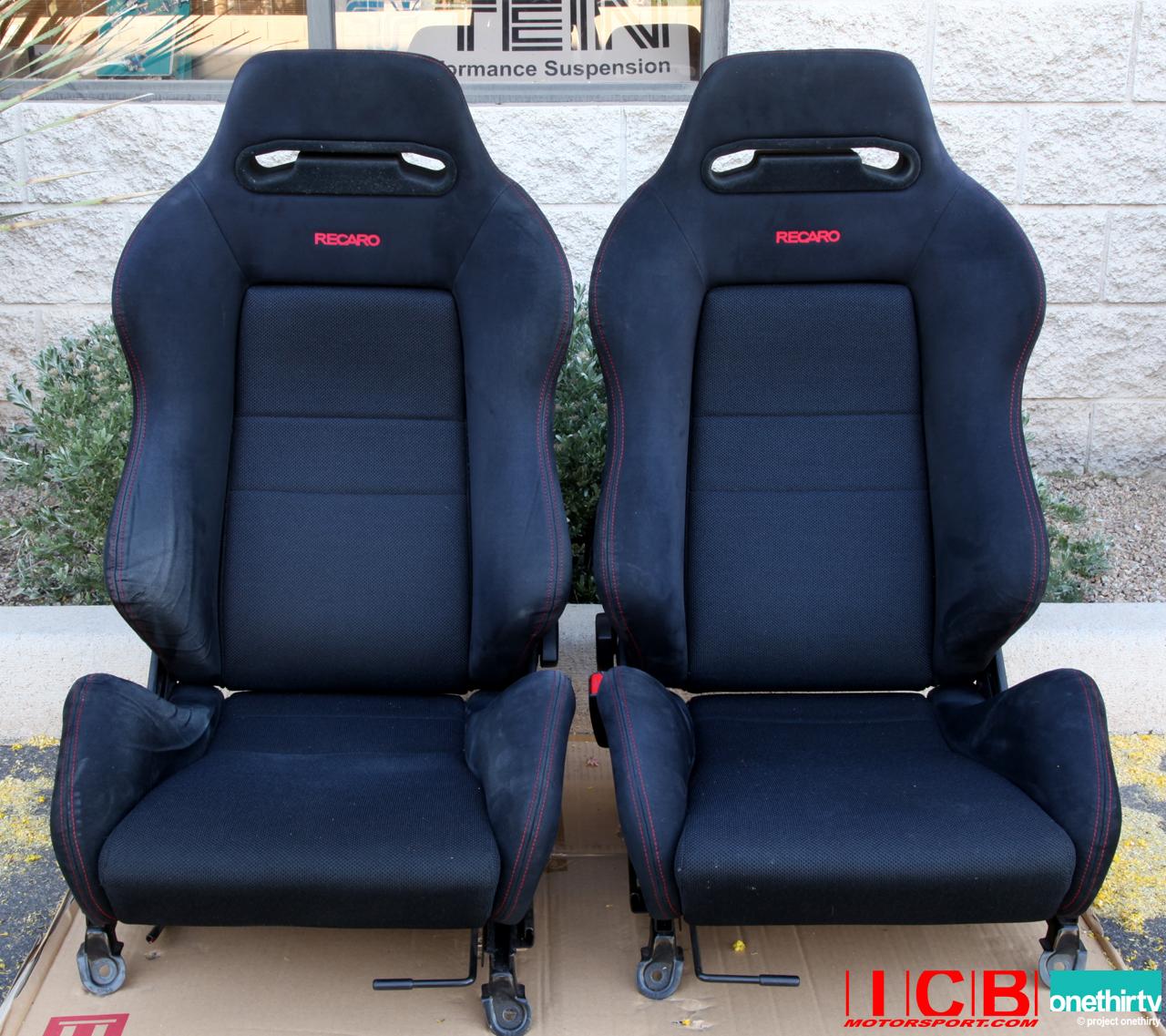 Used Honda DB8 Integra Type R Black Recaro Seats
