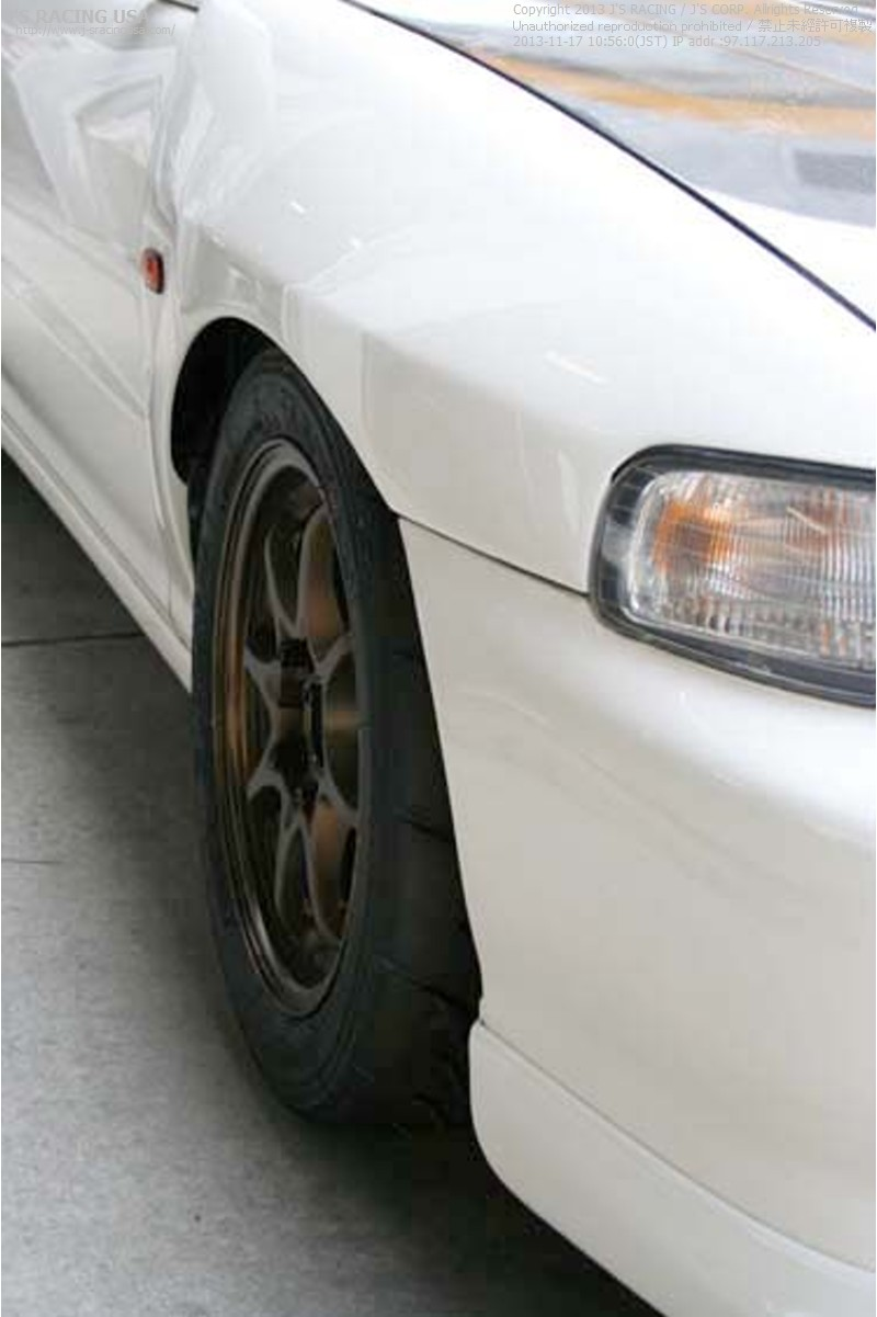 Js Racing Mm Extended Fenders Jswf T Jdm Dc Integra Jdm Front End Jdmland Icbmoorsport on Honda Civic From Bumper
