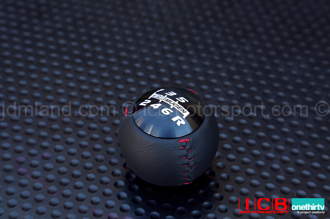 Mugen Fk2 Civic Type R Leather And Anodized Round Shift
