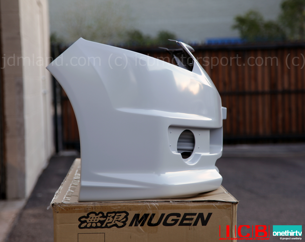 Mugen Front Aero Bumper Acura Tsx Tsx Wagon Cu2 Cw2 2009