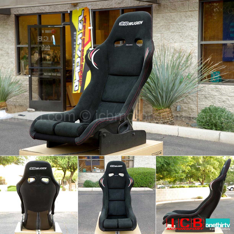 Mugen Ms R Msr Full Bucket Seat 81100 Xxf K0s0 Carbon Shell Alcantara C Fabric