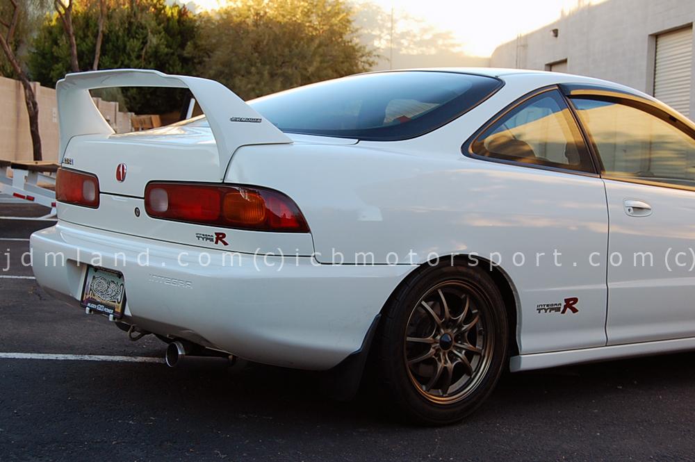 Exhaust Integra Type r a Usdm 97 Integra Type r