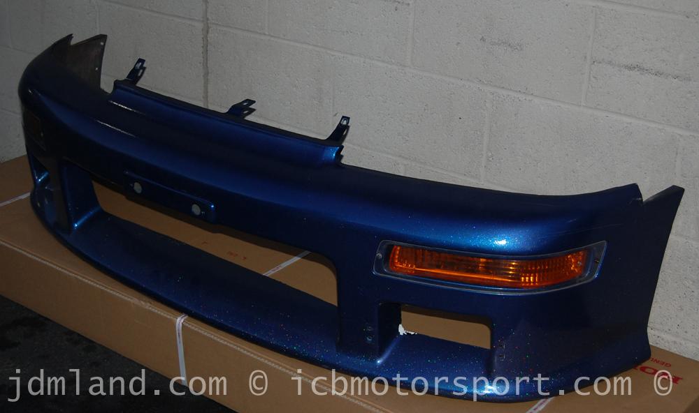 Used Mugen Jdm Cr X Ef8 90 91 Bumper W Amber Turn Signals