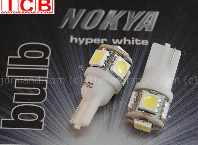Nokya 168 194 Led Multidirectional Wedge Hyper White 6000k