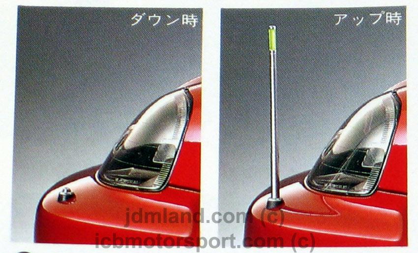 Jdm Civic Ek4 Sir Ek9 Type R Parking Pole Kit Rare