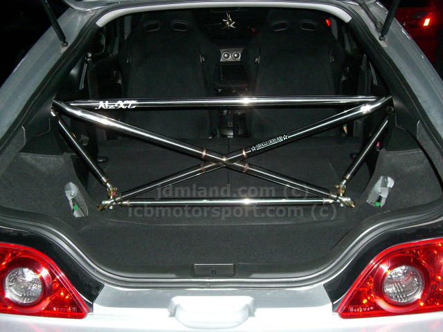 DC5 Acura RSX 2002-2006 PLM Miracle Next Style X-Bar Only Rear Crossbar
