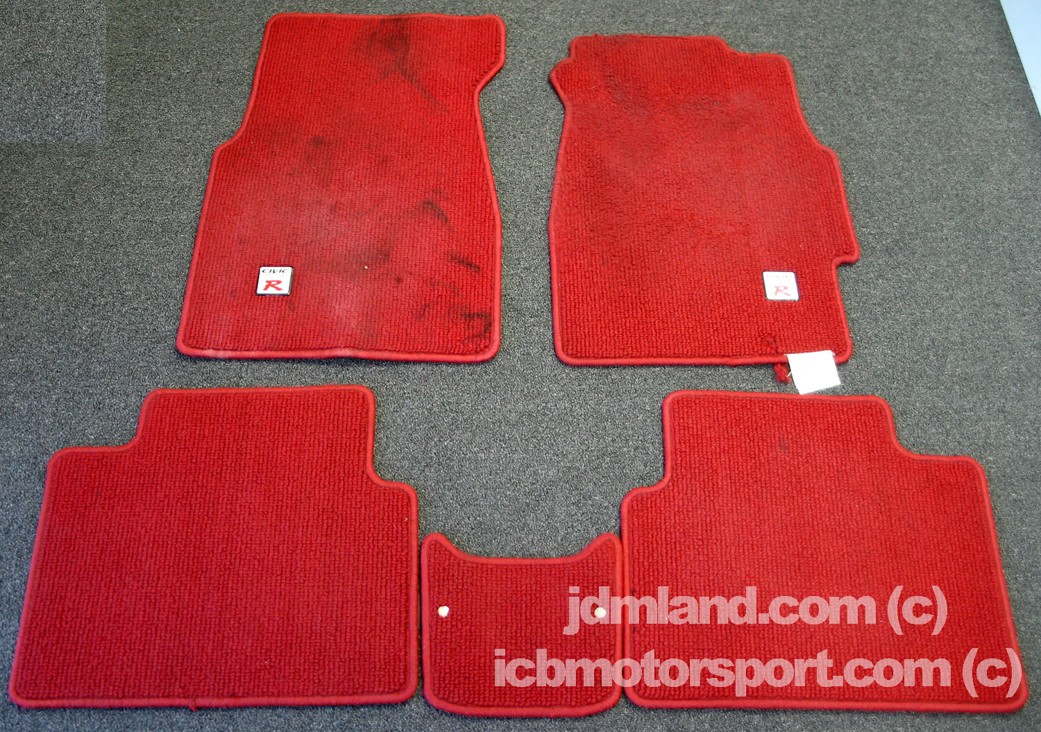 Floor mats used - Very High Resolution Picture Click Here