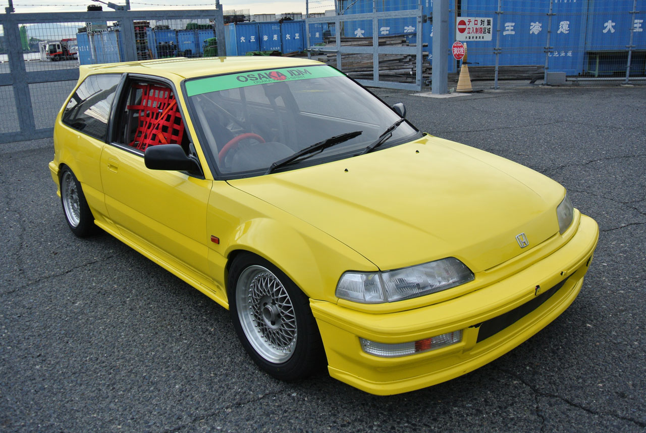 Shipping A Car >> Osaka JDM Car Craft BOON Co Ltd Honda Civic EF9 Hatchback Wide Fenders