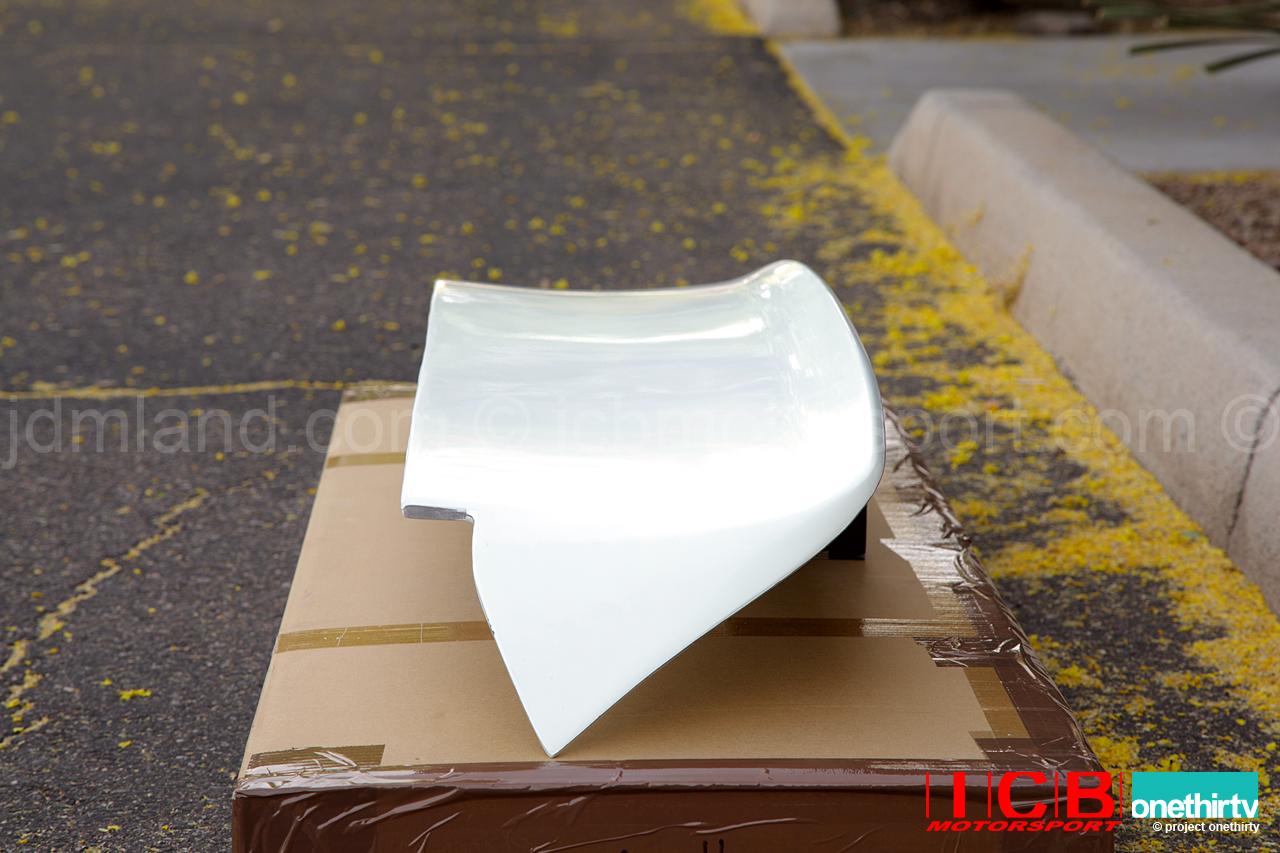 ... Car Craft Boon Co Ltd Civic EG Hatchback Devil Rear Roof Spoiler FRP