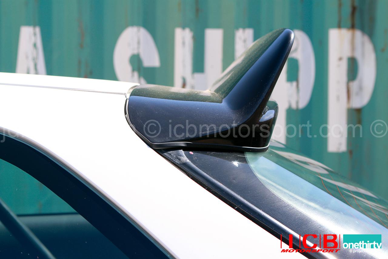 ... JDM Car Craft Boon Co Ltd Civic EK Hatchback Devil Rear Roof Spoiler