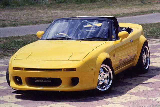 Mazda 6 Sport >> Rocket Dancer FRP Rear Deck Spoiler Mazda Miata NA/NB