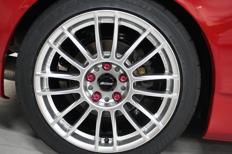 Honda S2000 Price >> Spoon Sports CR93 Wheels Hyper Silver 17X8.5 +45 offset ...