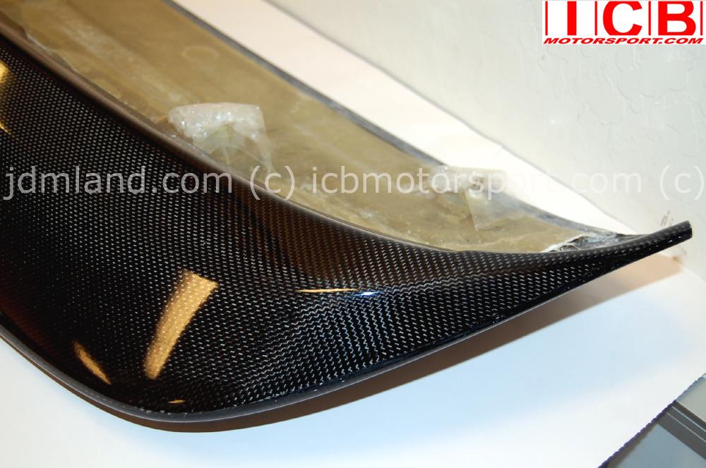 New Honda Civic >> Spoon Sports Carbon Spoiler Duckbill EK4 Civic 96-00 HB 68800-EKA-000