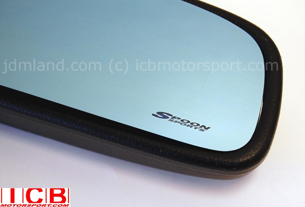 Spoon Blue Wide Rear View Mirror Integra Dc2 Dc5 Fit Gd3