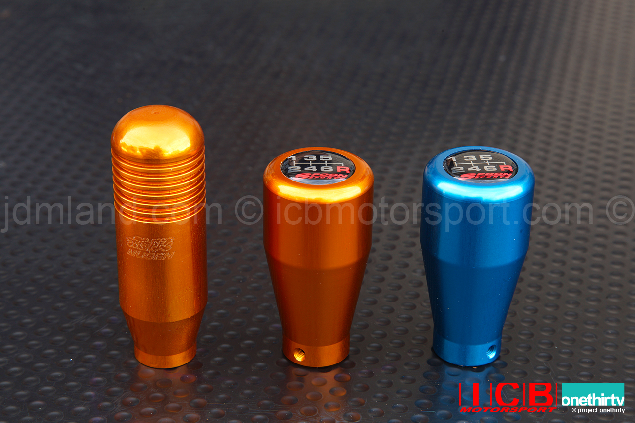 Spoon Sports Aluminum Shift Knob 5 Speed 6 Speed Anodized Gold