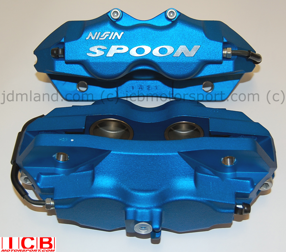 Spoon Sports 4 Pot Twin Block Calipers Ek9 Dc2 Type R