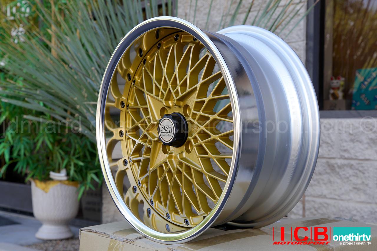 SSR Formula Mesh 3 piece wheel Formula Gold 16X8 4X100 39 ...