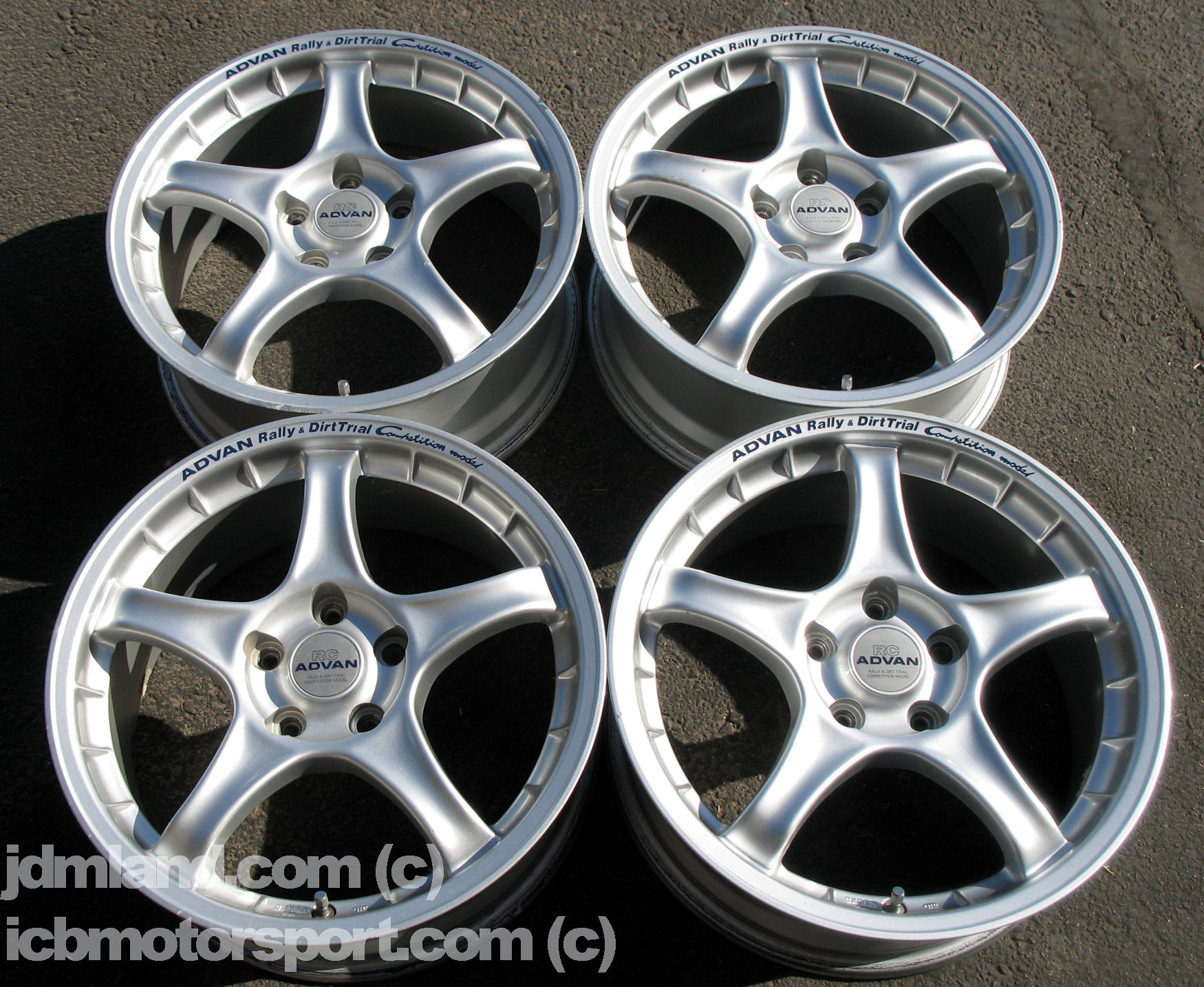 Advan Rc Silver 17 Quot 5x114 3 Perfect For Dc2 Ep3 Dc5