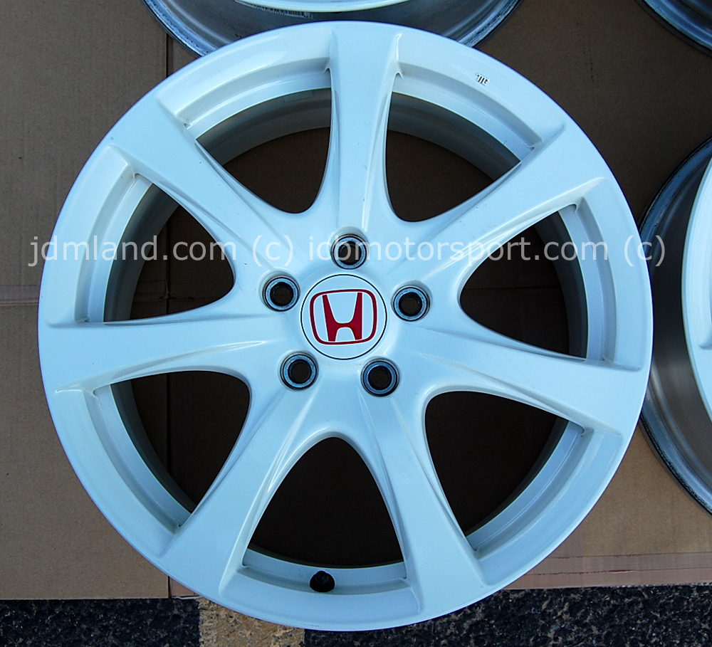 Used FD2 Civic Type R Champ. White Wheels 18X7.5 +60offset Sold