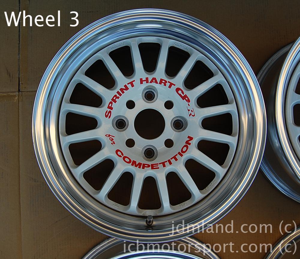 Lug Pattern >> Sprint Hart CP-R CPR 16X7 4X114.3 +42 Offset Sold