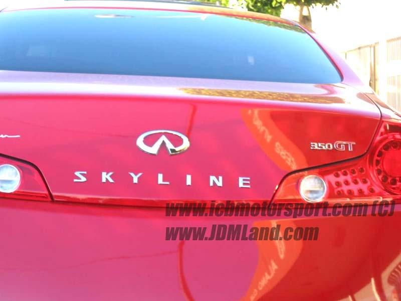Infiniti 350gt Skyline. Fits: 03+ Infiniti G35 Sedan